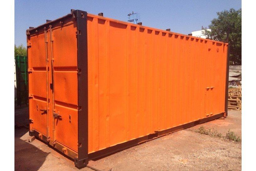 Аренда контейнера 20 футов б/у (цена за сутки)