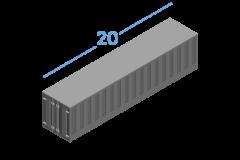 20ОT Морские контейнеры Open Top 20 футов