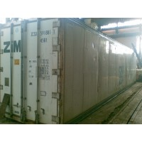 Рефрижераторный контейнер 40 футов high cube б/у