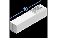 10RF Рефрижераторные контейнеры 10 футов