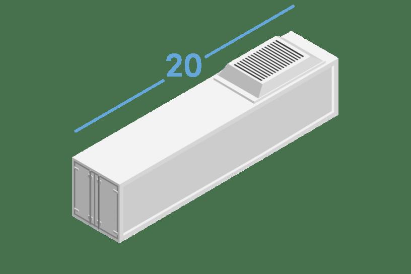 20RF Рефрижераторные контейнеры 20 футов