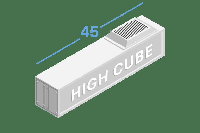 45HR Рефрижераторные контейнеры 45 футов high cube